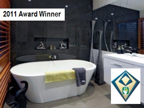 award winning bathroom renovation